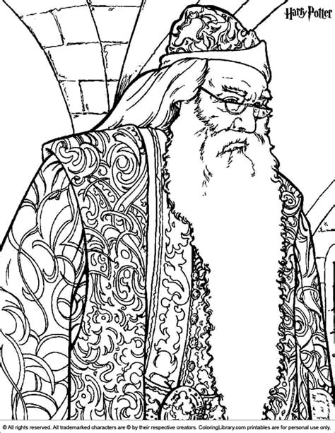 harry potter coloring pages dumbledore harry potter coloring picture