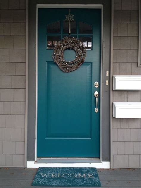 best paint for exterior door 25 best ideas about turquoise front doors on