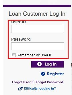 pay navient loan with credit card by login into student