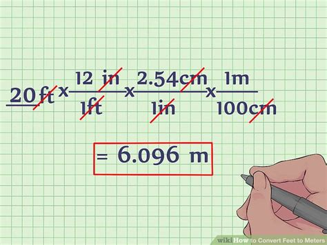 square feet to square meters how to convert feet to meters with unit converter wikihow
