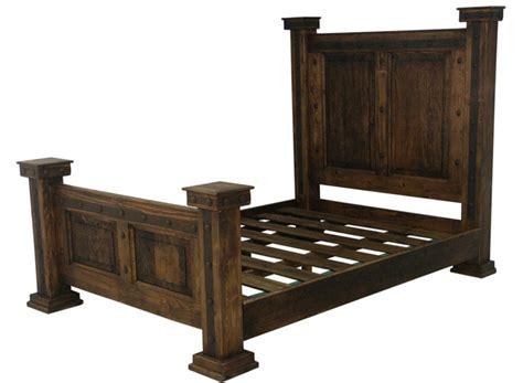 rustic king bed frame rustic bed frame rustic bed rustic western bed frame
