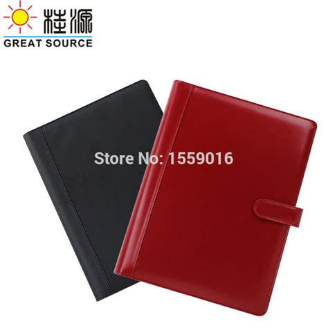 popular leather binder a4 buy cheap leather binder a4 lots