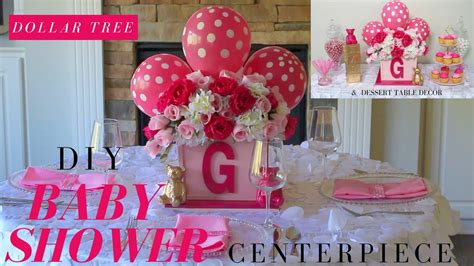 Baby Shower Diy Centerpieces by Diy Baby Shower Ideas Dollar Tree Baby Shower