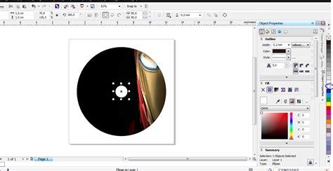membuat cover novel dengan corel cara membuat label atau cover cd dengan coreldraw x6