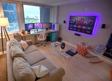 Designing Your Own House 25 best ideas about gaming room setup on pinterest