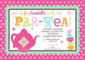 tea printable invitation dimple prints shop