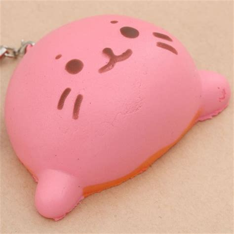 Squishy Anjing squishy anjing laut pink kawaii squishy shop