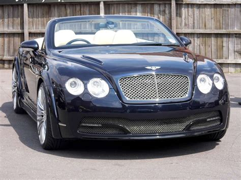 navy blue bentley project titan bentley continental gtc navy edition