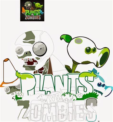 imagenes de plantas vs zombies navidad dibujos para colorear de plantas vs zombies navidad