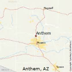 anthem arizona map best places to live in anthem arizona
