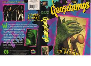 goosebumps stay out of the basement vhscollector