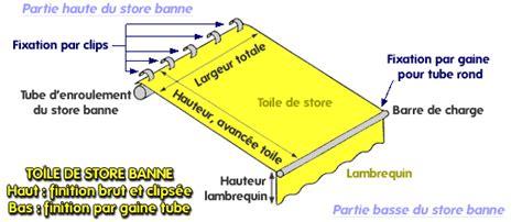 Changer Toile Store Banne 1797 by Comment Changer Et Remplacer Une Toile De Store Banne