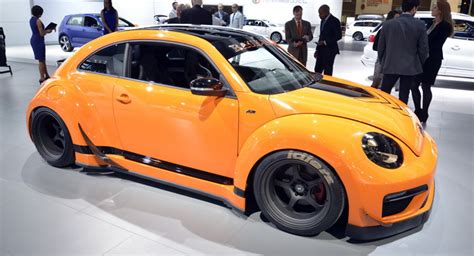 rwb porsche yellow vw tanner foust racing eneos rwb beetle brings some color