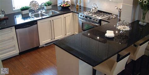 Black Pearl Countertops by Emerald Pearl Granite White Cabinets Roselawnlutheran