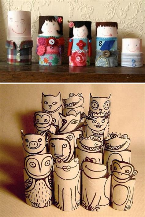 Toilet Paper Craft Ideas - the world s catalog of ideas