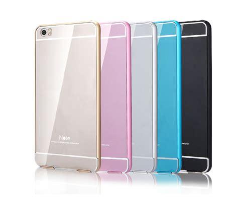 Casing Xiaomi Mi Note Mi Note Pro Texture Colorfull Custom Ha metal frame bumper for xiaomi note xiaomi mi note accessories