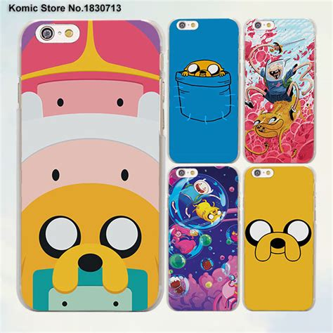 Beemo Bmo Jake Adventure Time Iphone 6 Cover adventure time beemo bmo jake finn lumpy design clear skin cover for apple iphone