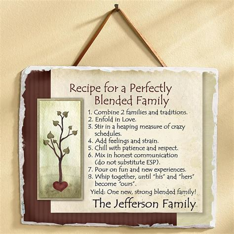Wedding Quotes Joining Families by Blended Family Poetry Our Family Recipe Support For