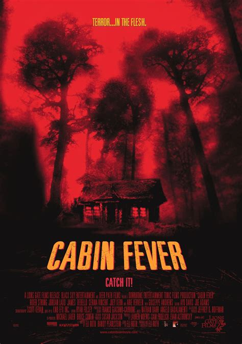 Cabin Fever 2012 tom cannon a2 media horror poster analysis
