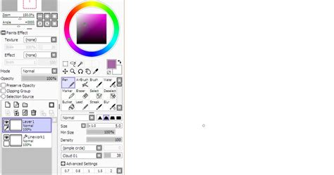 tutorial para iniciantes paint tool sai el rinc 243 n de los lapices gastados tutorial paint tool