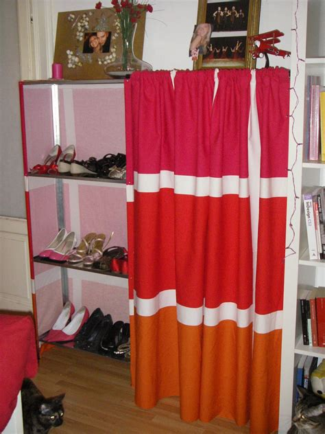 curtains for shelves diy custom shoe rack storage and shelves plus curtain ideas