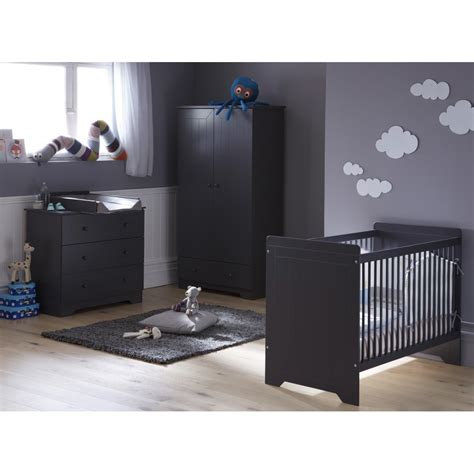 chambre bebe garcon complete chambre b 233 b 233 compl 232 te anthracite zeligrik01