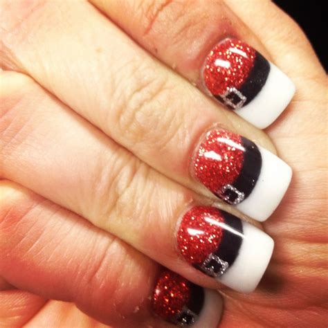 easy nail art christmas easy christmas nail art designs diy 2014