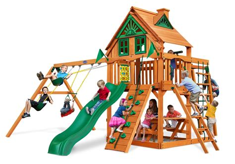 backyard playset accessories cayman treehouse wood playset with natural cedar kid s