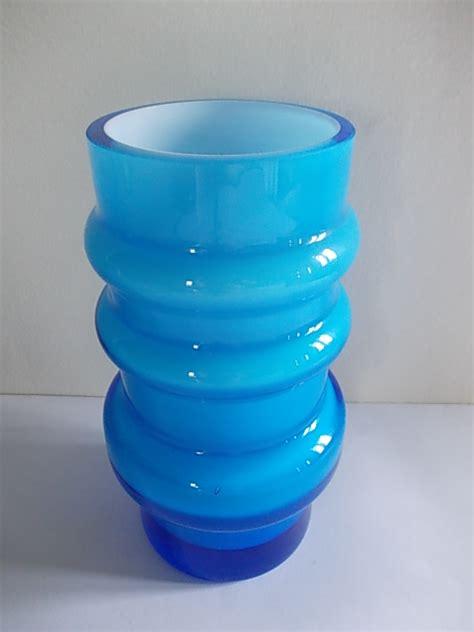 Blue Vases For Sale Retrofunk Blue Glass Vase For Sale