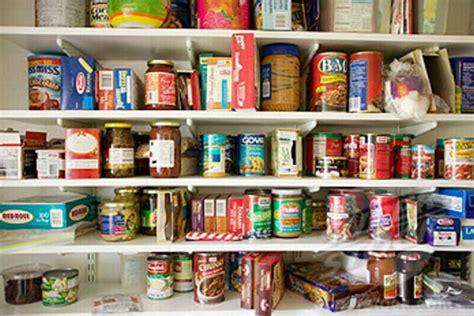 food pantry in home being here