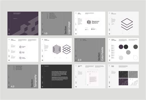 pattern making guidelines stevenson systems branding