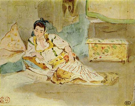 Sketches D Algerie by Eugene Delacroix