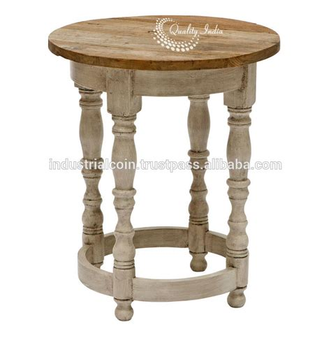 Inexpensive Side Tables by Wooden Coastal Side And Accent Table Buy Cheap Side
