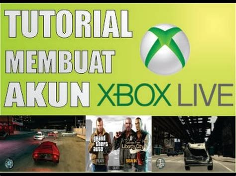 tutorial youtube live tutorial membuat akun xbox live youtube