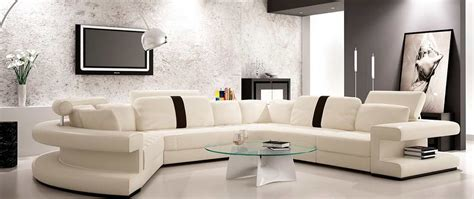white sectional leather sofa modern modern white leather sectional sofa vg123 leather sectionals