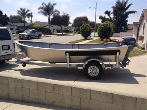 work skiff boats 2014 custom heavy duty aluminum 16 work skiff w yamaha
