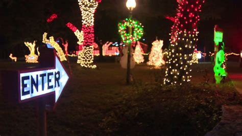 boerne family using money from christmas light display to