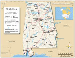 map of alabama and cities