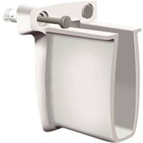 closetmaid u shaped shelf clip closetmaid 21782 shelf end wall bracket plastic white