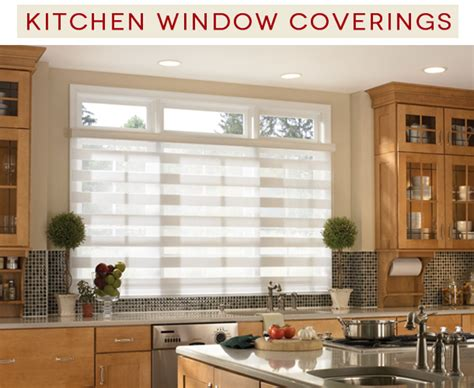 window covering ideas six great kitchen window covering ideas