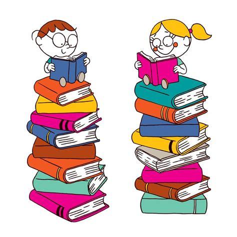 Wiederverwendbare Aufkleber Kinder by Aufkleber Kinder Lesen Auf Einem Gro 223 En Stapel Der B 252 Cher