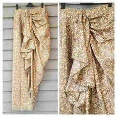 Batik Muslimah Pekalongan Idr 228 000 yellow top with batik lilit skirt yellow top yellow and skirts