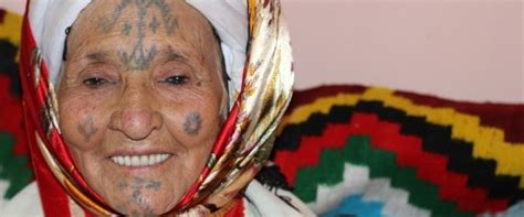 muslim face tattoo why do some north african middle eastern women have