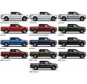 2015 Ford F150 To Come In 13 Colors 14 Wheel Options
