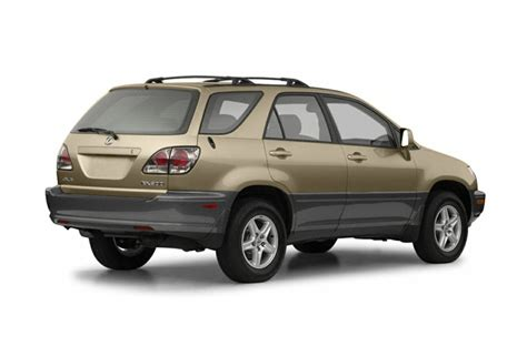 lexus rx 2002 2002 lexus rx 300 overview cars com