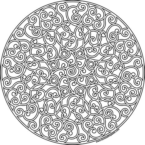 mandala coloring pages hearts don t eat the paste mandala to color
