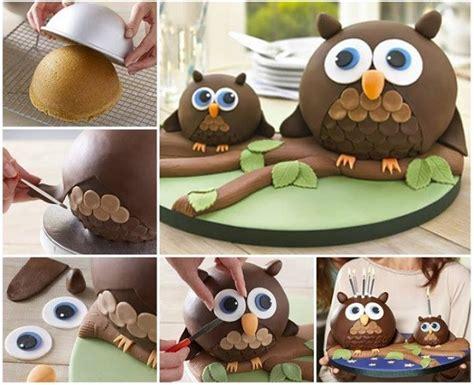 diy cake owl cake diy recipe alldaychic