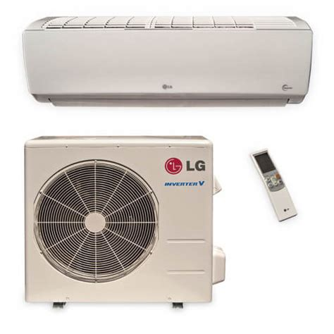 single zone ductless heating and ls181hsv lg ls181hsv 18 200 btu ductless single zone air conditioner inverter heat package