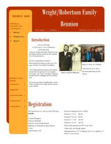 best photos of family newsletter template samples family