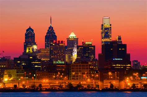 top 25 places to watch the sunset in philadelphia